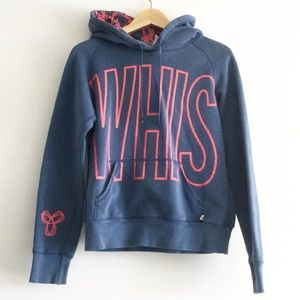 TNA Whistler Blue and Pink Hoodie